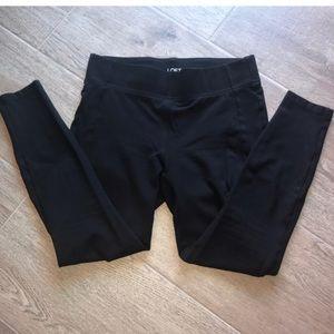 LOFT Black Pant Leggings Size Small